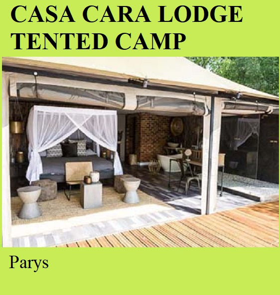 Casa Cara Lodge Tented Camp - Parys