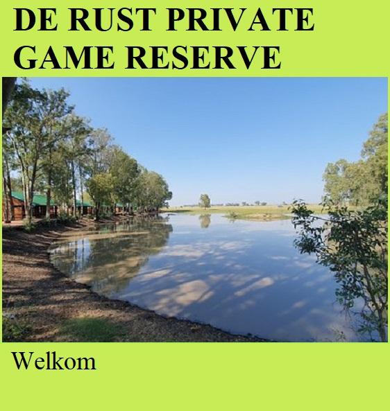 De Rust Private Game Reserve - Welkom