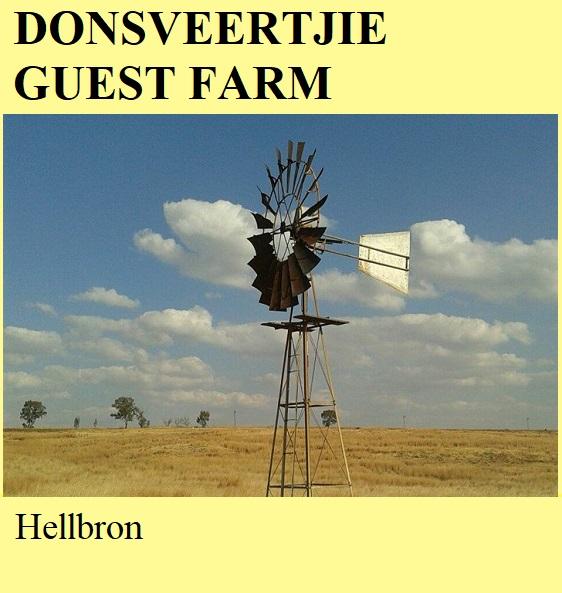 Donsveertjie Guest Farm - Hellbron