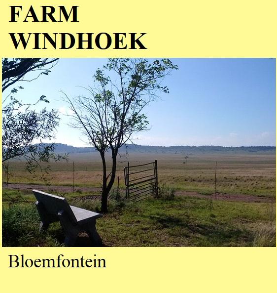 Farm Windhoek - Bloemfontein