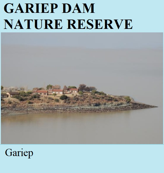 Gariep Dam Nature Reserve - Gariep