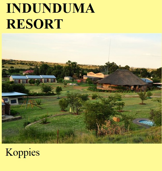 Indunduma Resort - Koppies