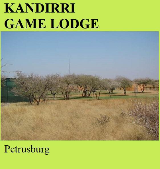 Kandirri Game Lodge - Petrusburg