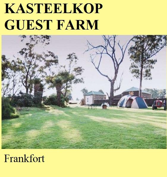 Kasteelkop Guest Farm - Frankfort