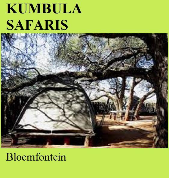 Kumbula Safaris - Bloemfontein