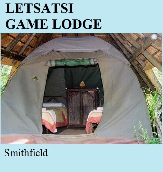 Letsatsi Game Lodge - Smithfiled
