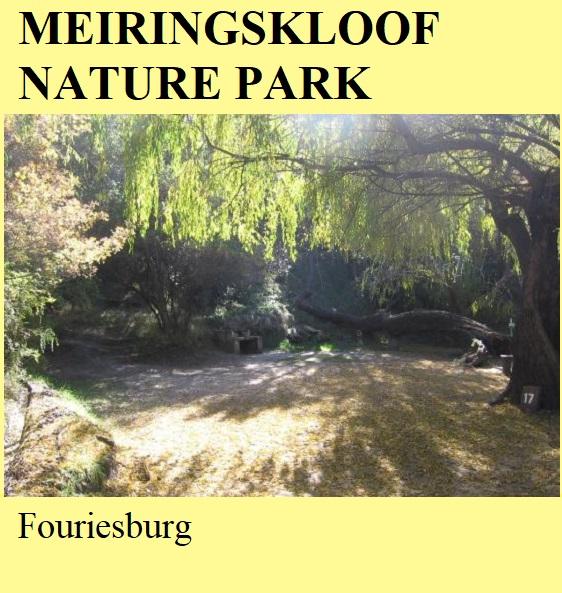 Meiringskloof Nature Park - Fouriesburg