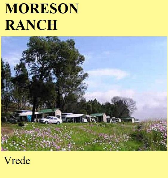 Moreson Ranch - Vrede