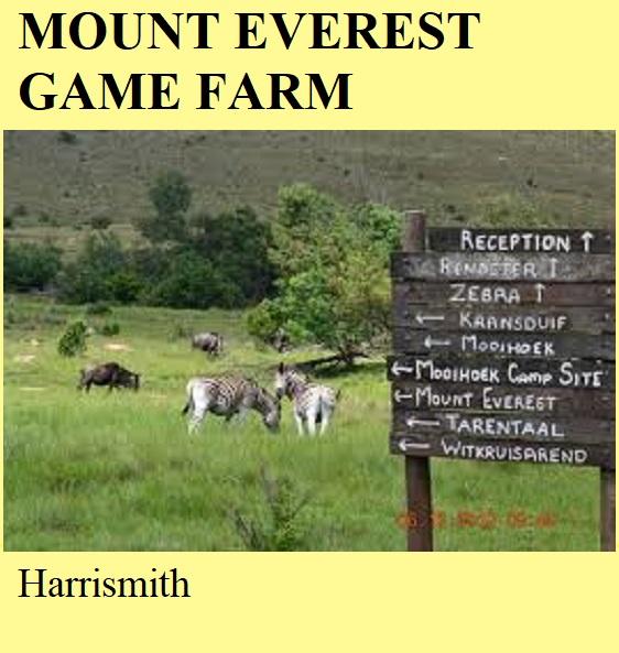 Mount Everest Game Farm - Harrismith