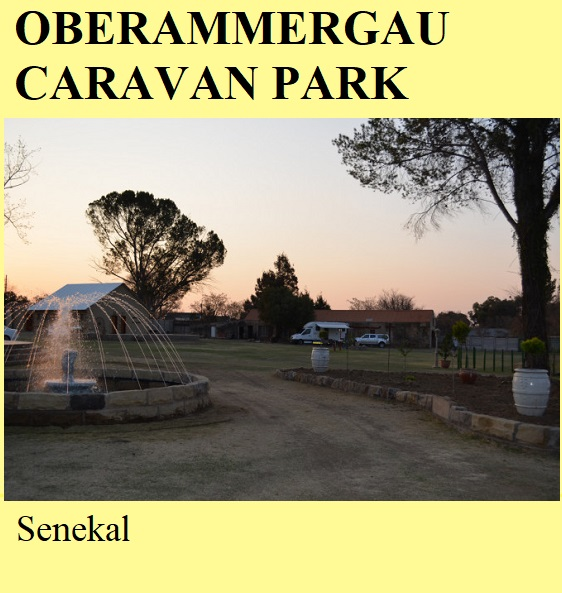 Oberammergau Caravan Park - Senekal