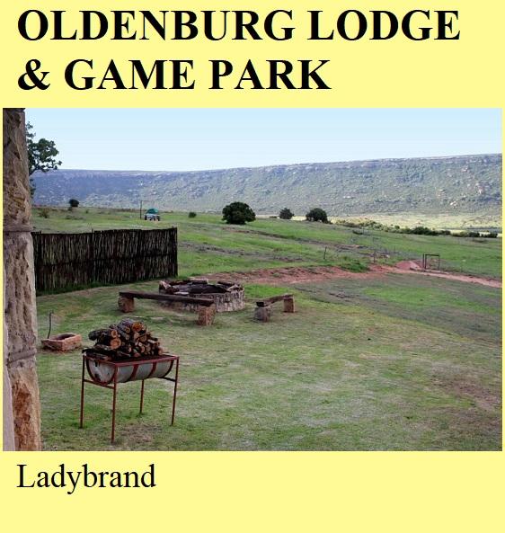 Oldenburg Lodge and Game Park - Ladybrand