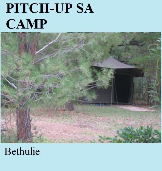 Pitch Up SA Tented Camp - Bethulie
