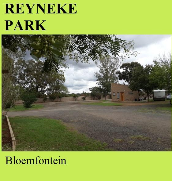 Reyneke Park - Bloemfontein