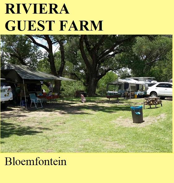 Riviera Guest Farm - Bloemfontein