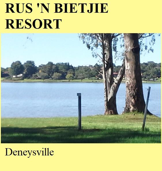 Rus 'n Bietjie Resort - Deneysville