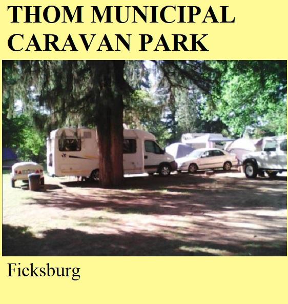 Thom Municipal Caravan Park - Ficksburg
