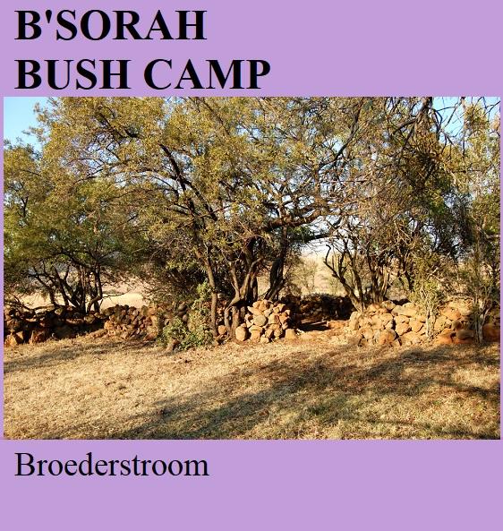 B'Sorah Bush Camp - Broederstroom