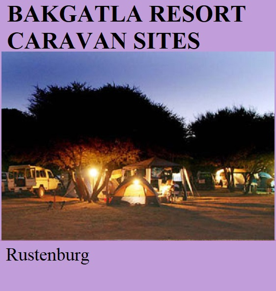 Bakgatla Resort Caravan Sites - Rustenburg