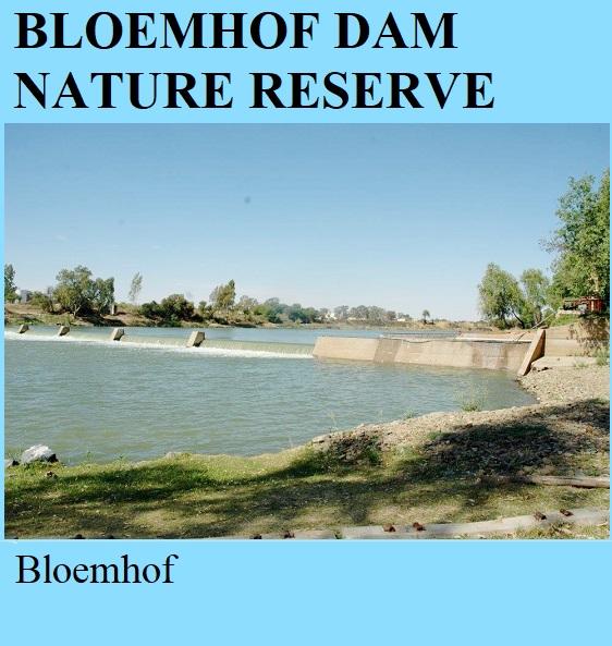 Bloemhof Dam Nature Reserve - Bloemhof