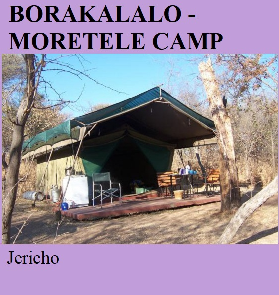 Borakalalo National Park Moretele Tented Camp - Jericho