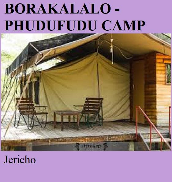 Borakalalo National Park Phudufudu Tented Camp - Jericho