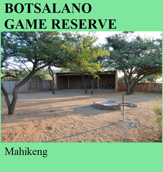 Botsalano Game Reserve - Mahikeng