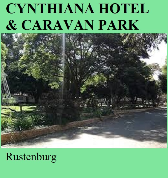 Cynthiana Hotel and Caravan Park - Rustenburg