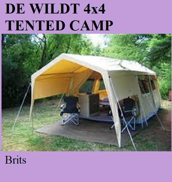 De Wildt 4x4 Tented Camp - Brits