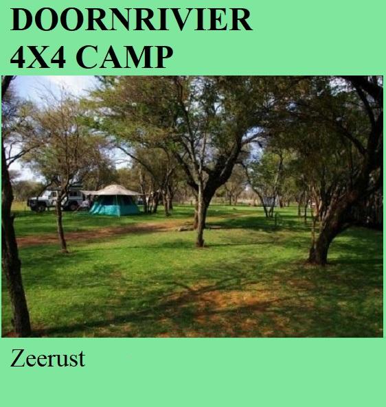 Doornrivier 4x4 Camp - Zeerust