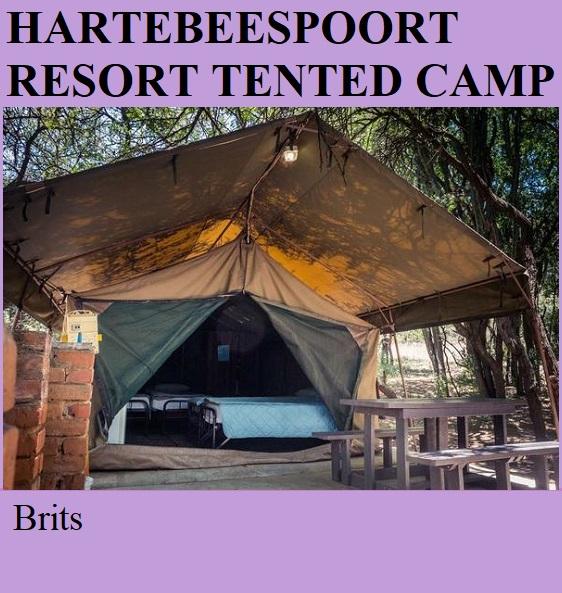 Hartebeespoort Resort Tented Camp - Brits