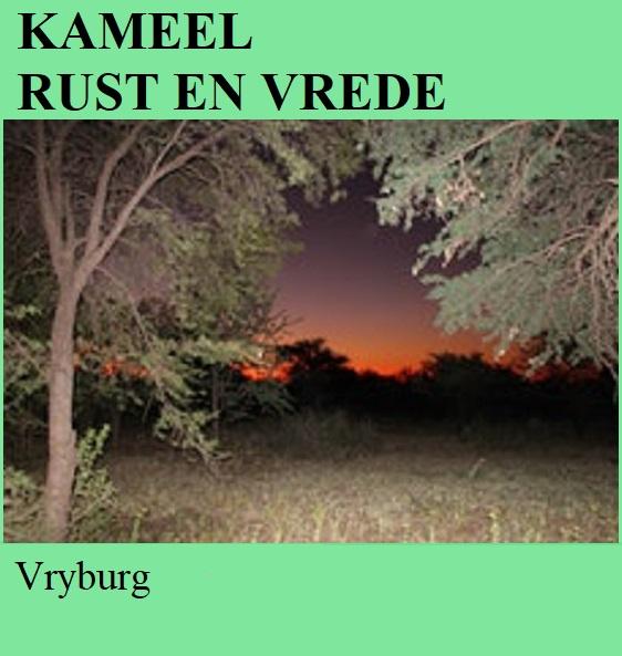 Kameel Rust en Vrede - Vryburg