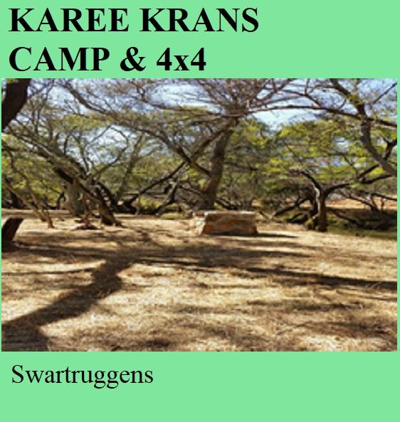 Karee Krans Camp and 4x4 - Swartruggens