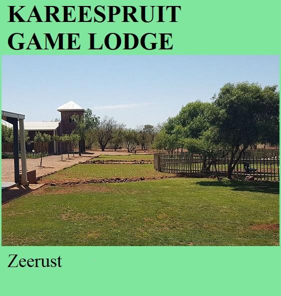 Kareespruit Game Lodge - Zeerust