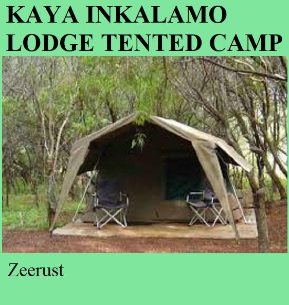 Kaya Inkalamo Lodge Tented Camp - Zeerust