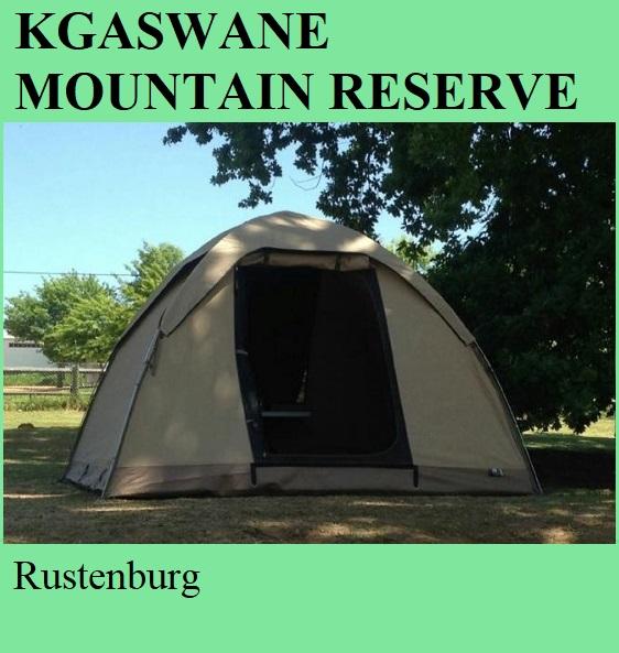 Kgaswane Mountain Reserve - Rustenburg
