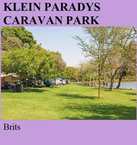 Klein Paradys Caravan Park - Brits