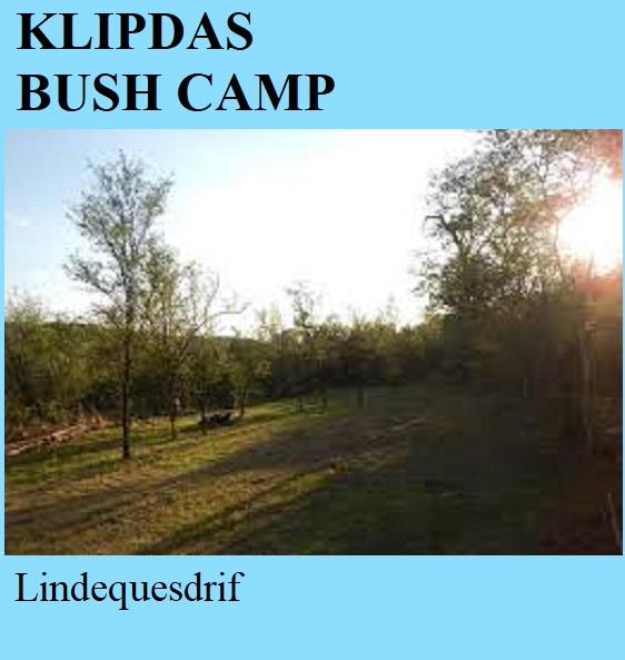 Klipdas Bush Camp - Lindequesdrif
