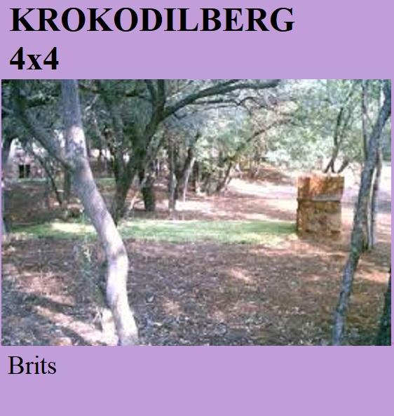 Krokodilberg 4x4 - Brits