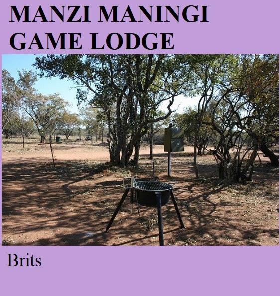 Manzi Maningi Game Lodge - Brits