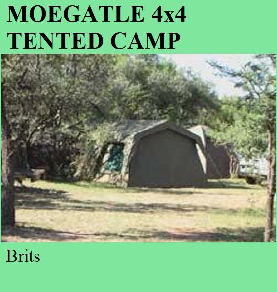 Moegatle 4x4 Tented Camp - Brits