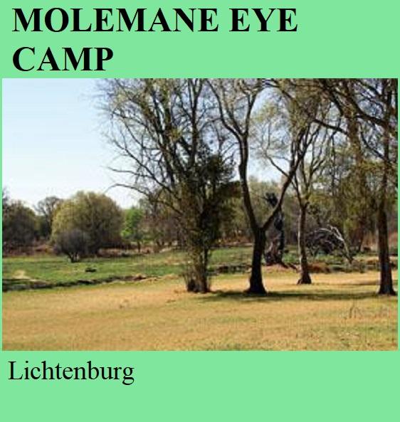 Molemane Eye Camp - Lichtenburg -