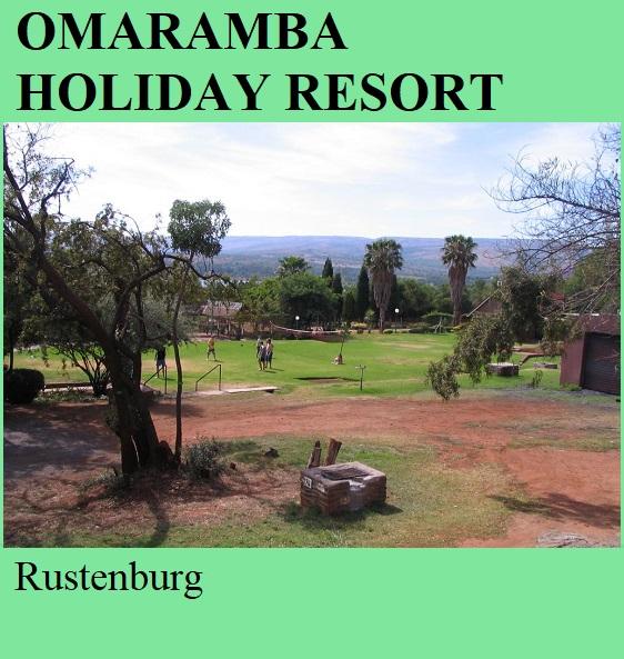Omaramba Holiday Resort - Rustenburg