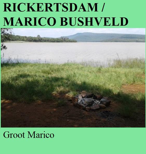 Rickertsdam aka Marico Bushveld Dam - Groot Marico