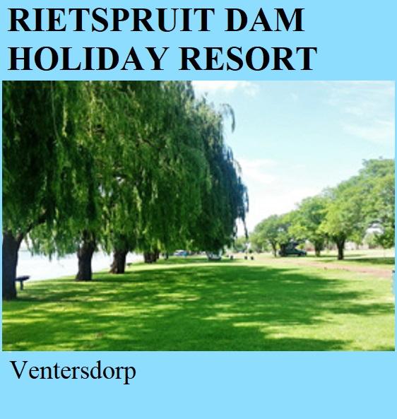 Rietspruit Dam Holiday Resort - Ventersdorp