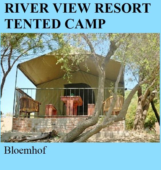 River View Resort Tented Camp - Bloemhof