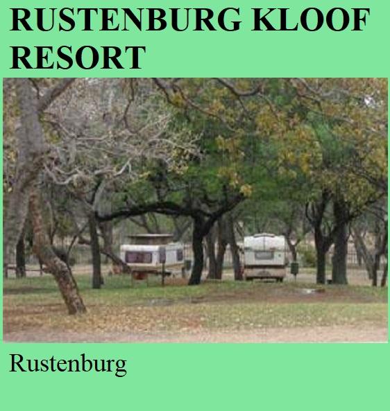 Rustenburg Kloof Resort - Rustenburg