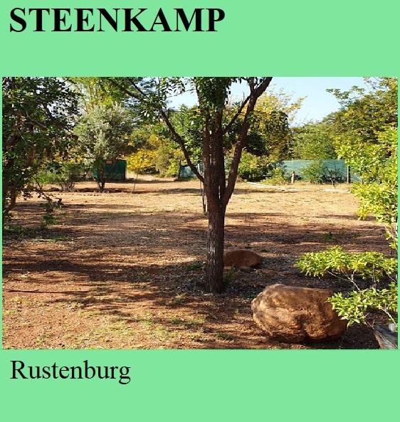 Steenkamp - Rustenburg