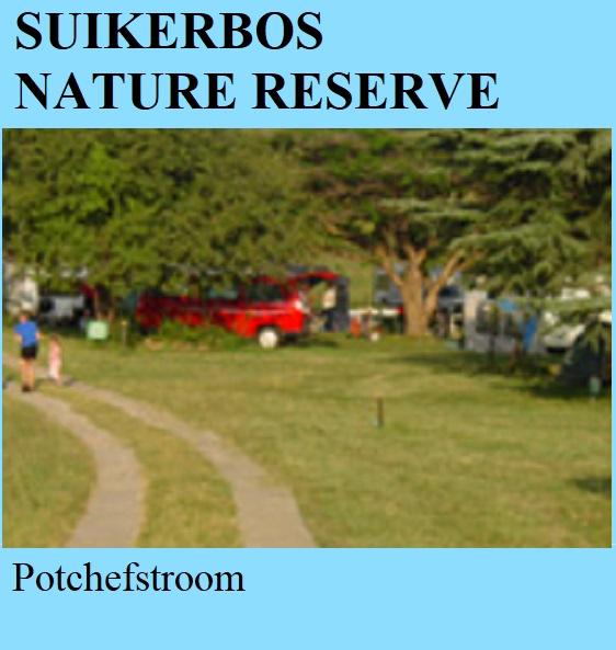 Suikerbos Nature Reserve - Potchefstroom