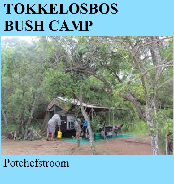 Tokkelosbos Bush Camp - Potchefstroom