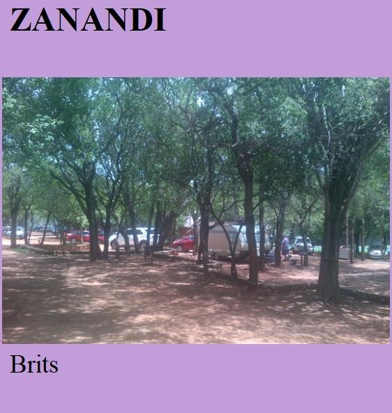 Zanandi - Brits